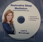 Restorative Sleep Guided Meditation CD, MP3 and  Written Transcript